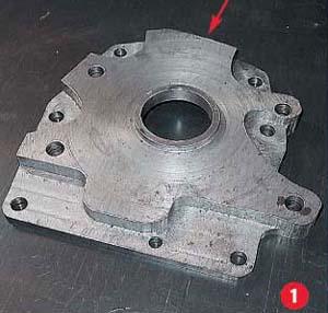 image317 - Чертеж картера сцепления м412 с размерами